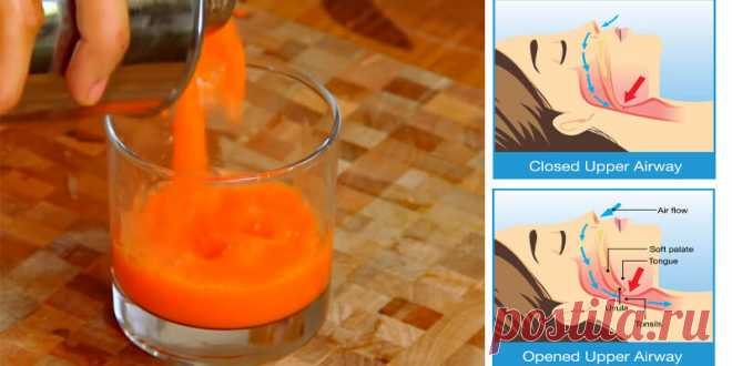Вкусный сок, который избавляет от храпа и уменьшает апноэ во сне! - Стильные советы