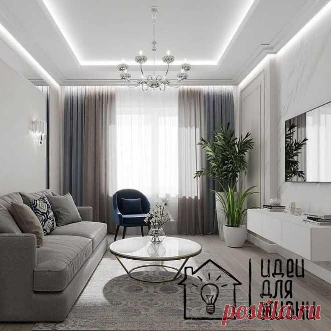 Интерьеры гостиных комнат