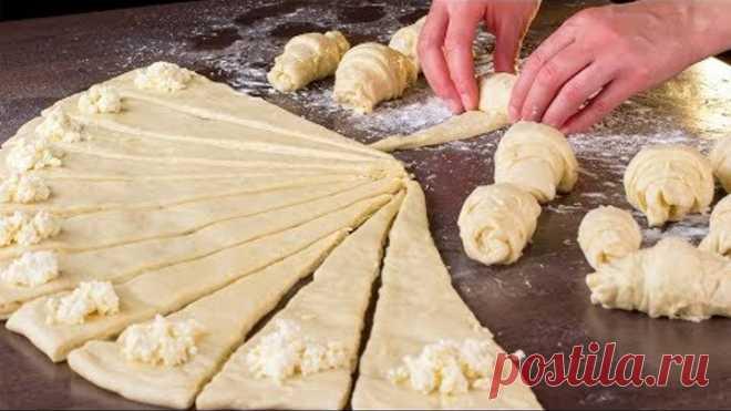 Секрет не в начинке, а в тесте. Круассаны - идеальный завтрак для всей семьи! | Appetitno.TV
