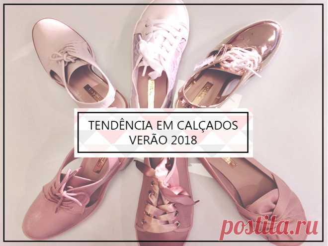 Tendência em Calçados – Verão 2018