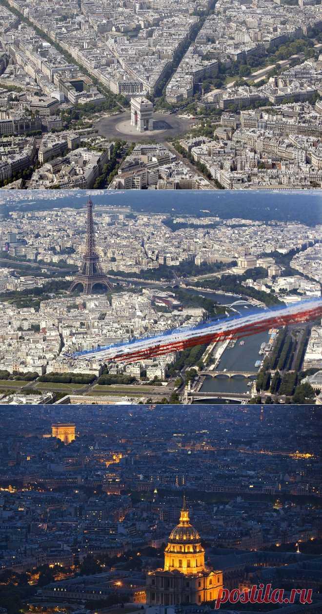 >> Париж с высоты птичьего полета | ФОТО НОВОСТИ