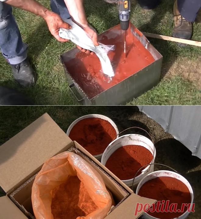 Натуральная краска своими руками в 10 раз дешевле обычной и служит десятки лет! Просто находка для жителей села, садоводов