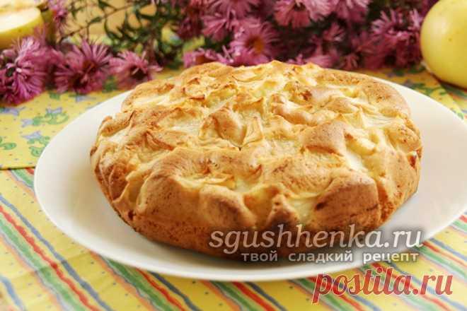 Как приготовить разборный яблочный пирог #9