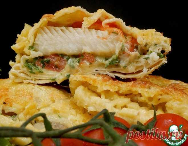 Рыба в лаваше – кулинарный рецепт