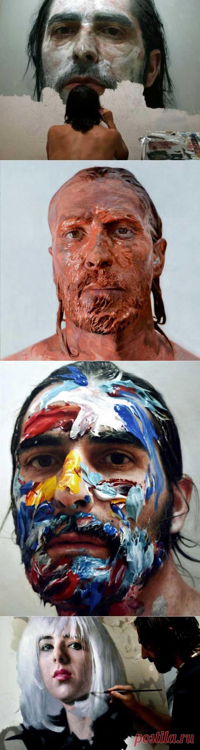 Невероятно реалистичные портреты маслом от Элоя Моралеса | Ультрамарин
