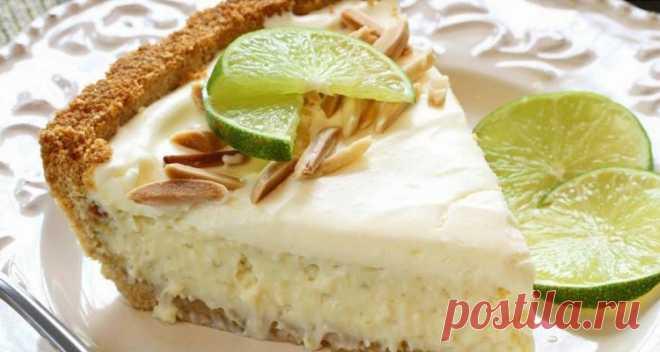 Полезные сладости: как приготовить низкокалорийный лимонный торт