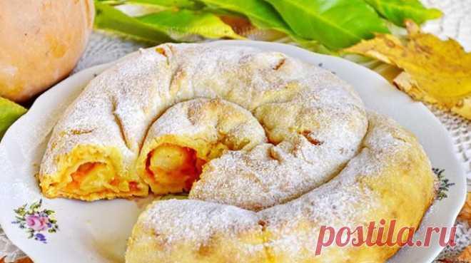 Вкусная выпечка полюбившаяся многим — вертута с яблоками    Готовить легко и быстро!          Ингредиенты: мука пшеничная — 500-550 граммВода — 1 стаканрастительное масло — 0,5 стакана Начинка: яблоко — 6 штук; сахар и корица по вкусу. Приготовление: Муку п…