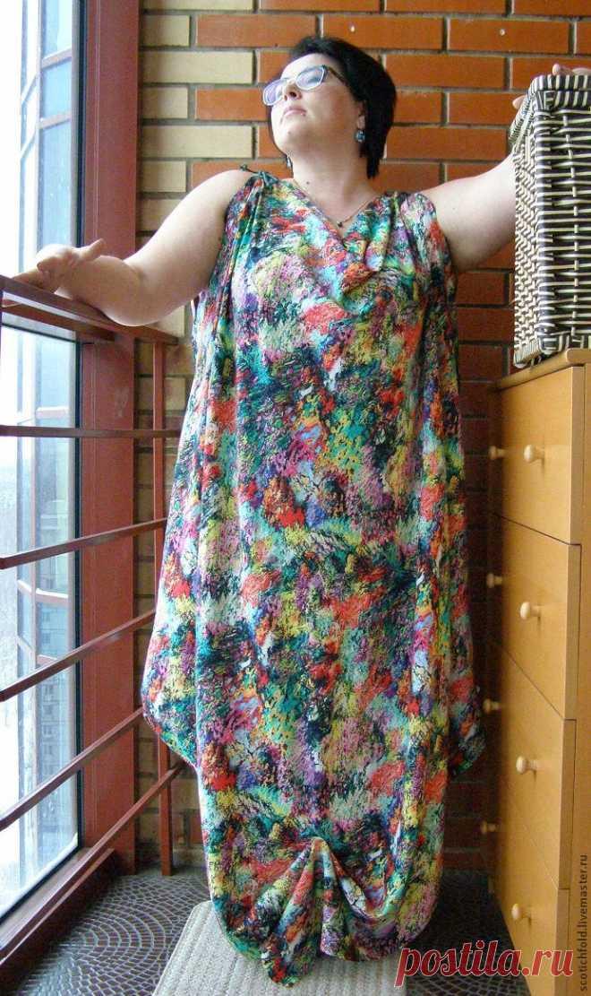 fbf9f7ea828 Февраль — время шить летнее платье-сарафан – Ярмарка Мастеров ...