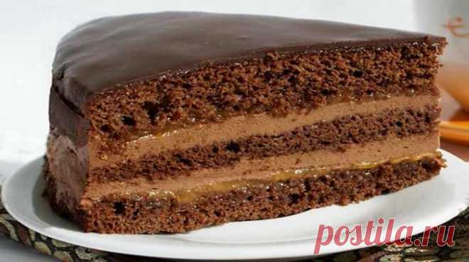Prague cake. You only try, and fall in love with him forever!