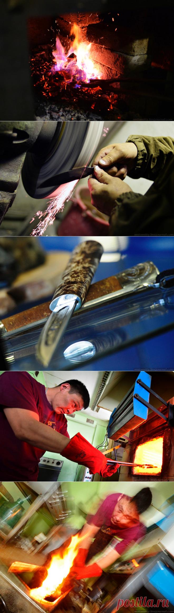 Yakut knife. Creation history