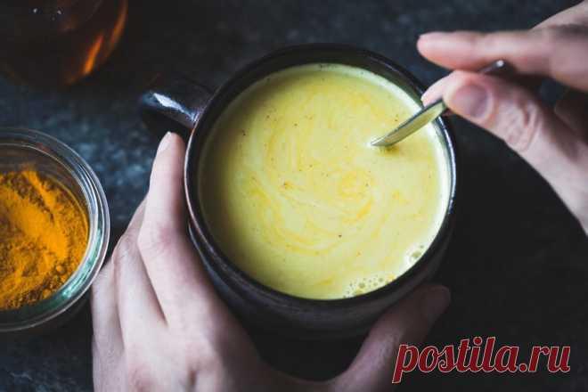 Золотое молоко — напиток здоровья и молодости йогов