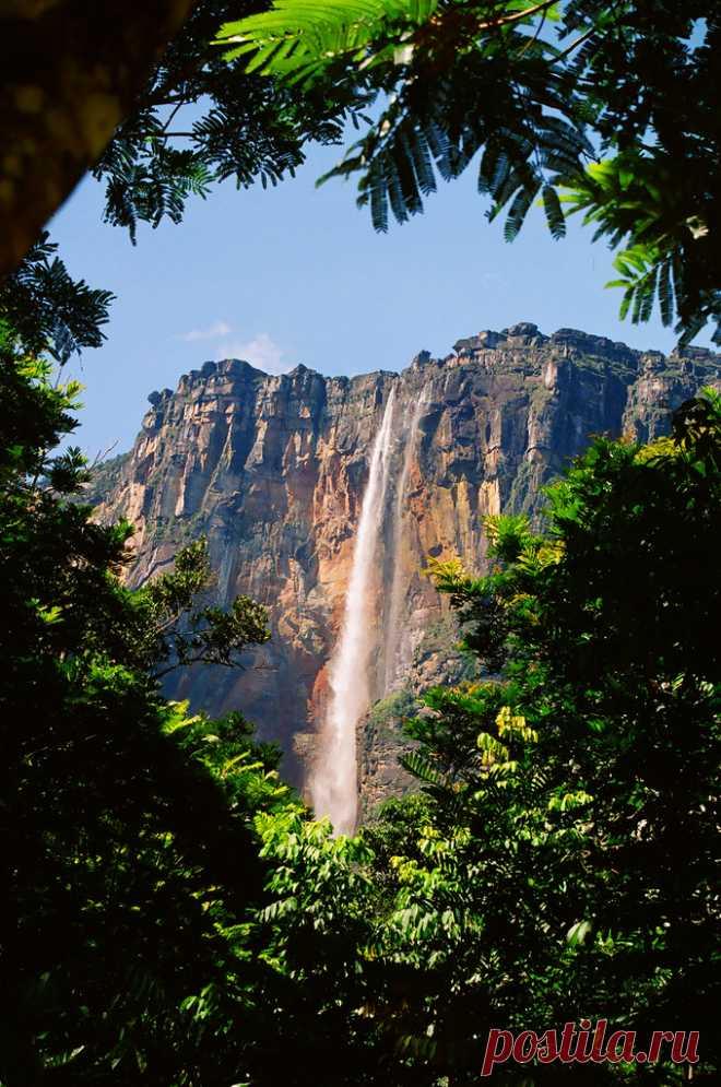 "de-preciated: ""Angel Falls by ida_nawrot on Flickr. Source - (http://flic.kr/p/4Nh2XG) Verdens største vandfald i nationalparken i Venezuela. """
