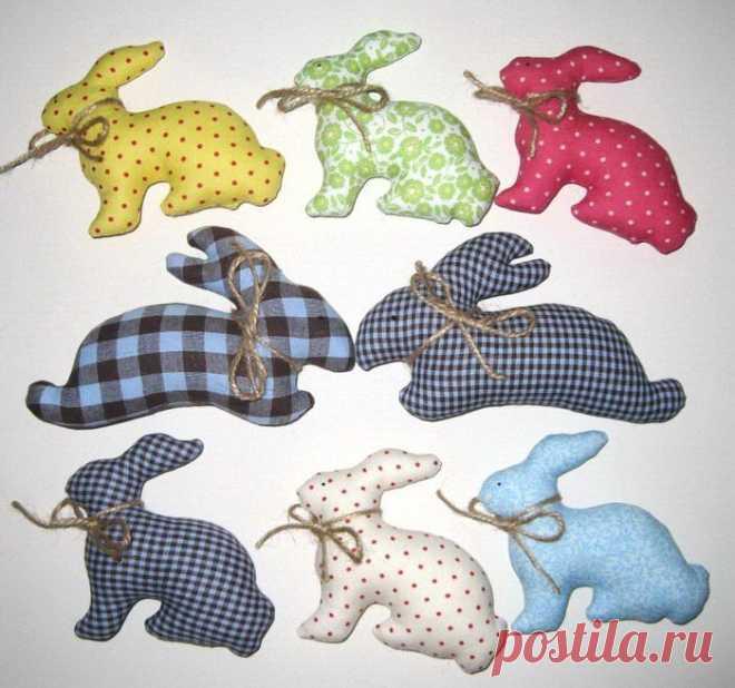 Кролики - варианты тканей и оттенков