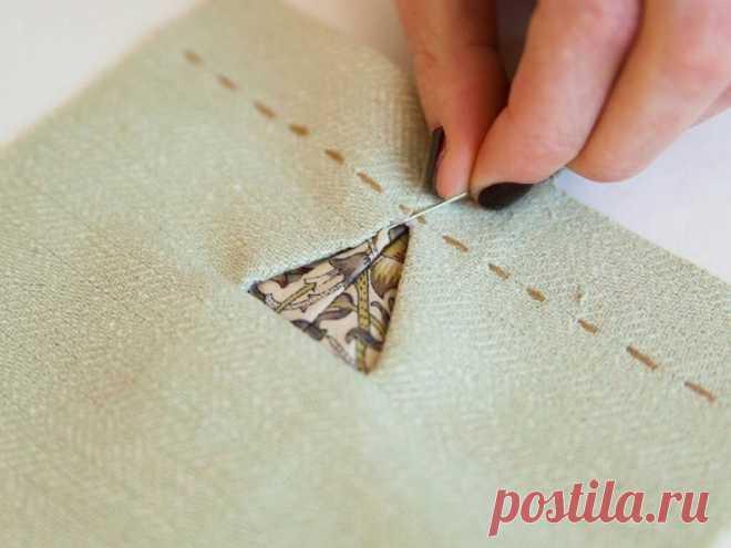 Треугольные петли DIY Модная одежда и дизайн интерьера своими руками
