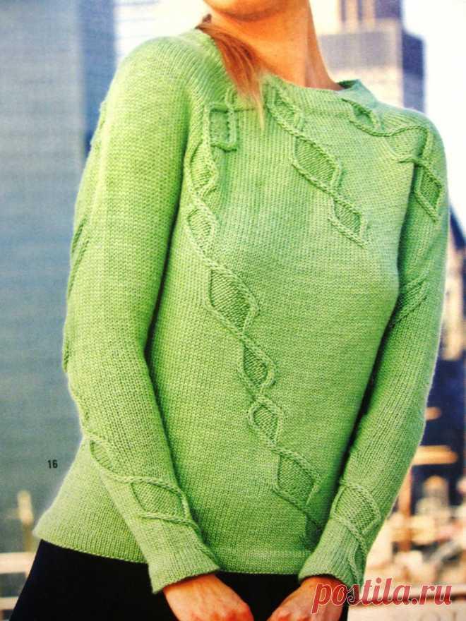 Пуловер из Vogue 2010-2011 winter.