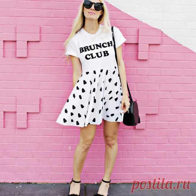 Как сделать платье из футболки: простой мастер-класс — Мастер-классы на BurdaStyle.ru