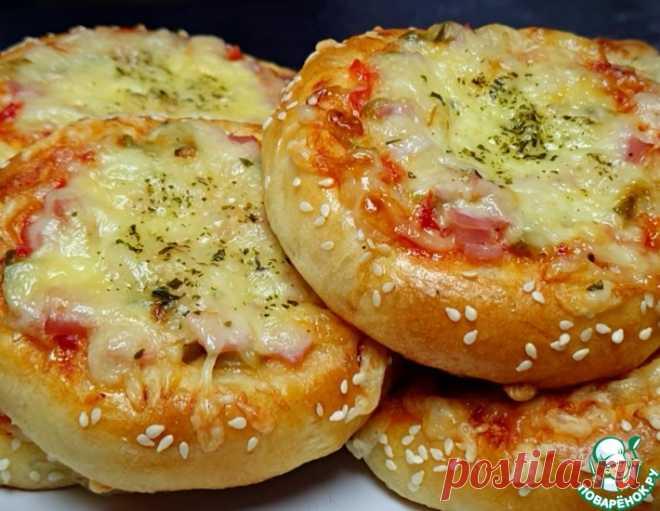 Школьная пицца по-домашнему – кулинарный рецепт