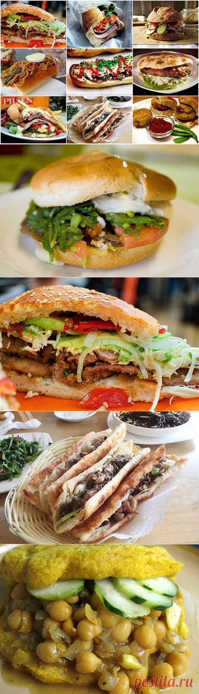 Вокруг света с бутербродами   Fresher - Лучшее из Рунета за день