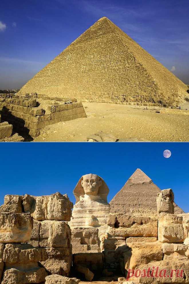 Интересные факты. Пирамида Хеопса   НАУКА И ЖИЗНЬ