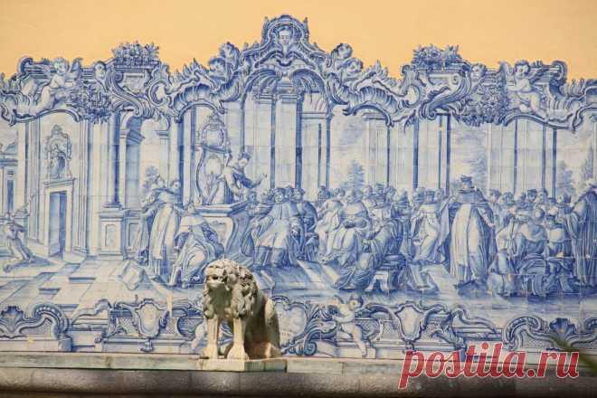 Что такое азулежу, причем тут гжель и чем меня поразило это искусство: расскажу об изюминке Португалии | Соло-путешествия | Яндекс Дзен