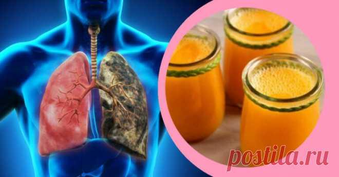 Напиток, очищающий легкие: все курильщики должны попробовать! - Советы для женщин
