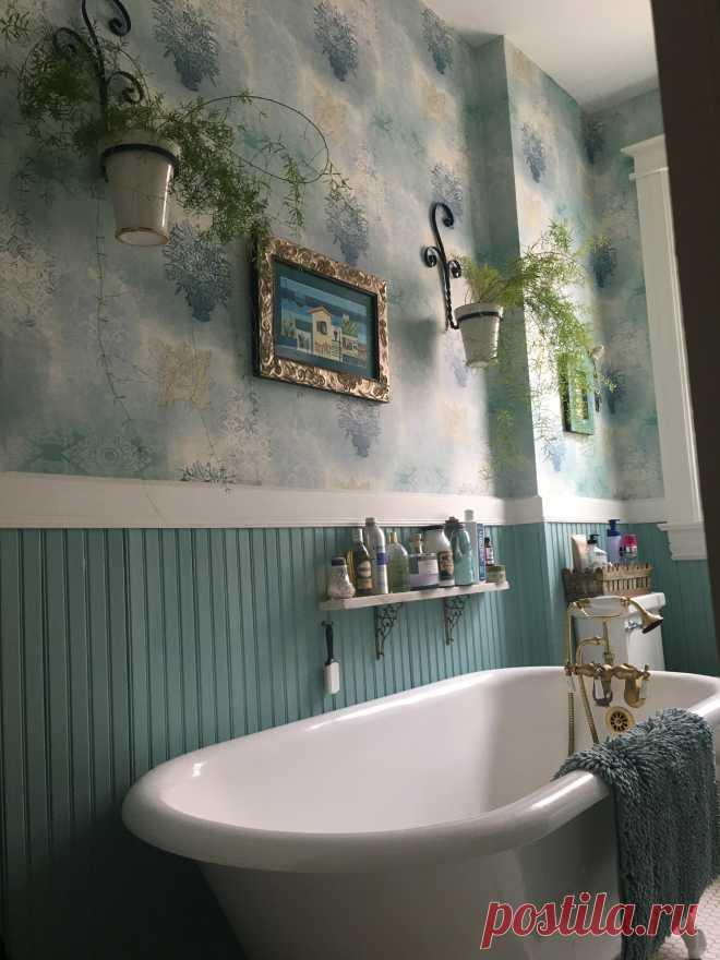Vintage bath update - Викторианский - Ванная комната - Денвер - от эксперта Design a la Carte Inc | Houzz Россия