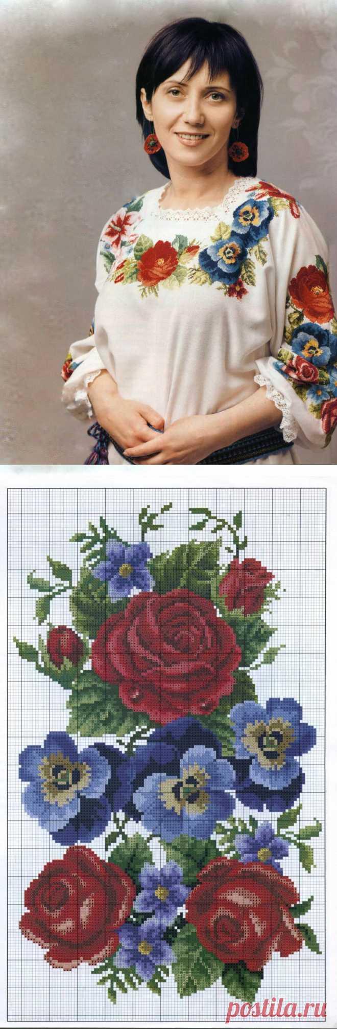 Вышиванка «Квiтуча доля»   Шкатулочка для рукодельниц