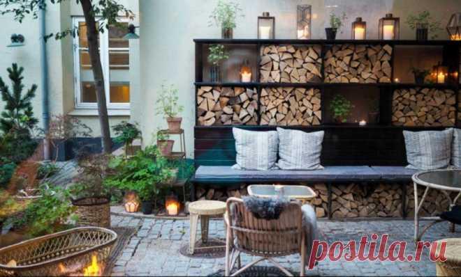 Хюгге: как привнести уютное датское счастье в свой сад | Вдохновение (Огород.ru)