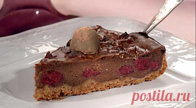 Шоколадный чизкейк, пошаговый рецепт с фото
