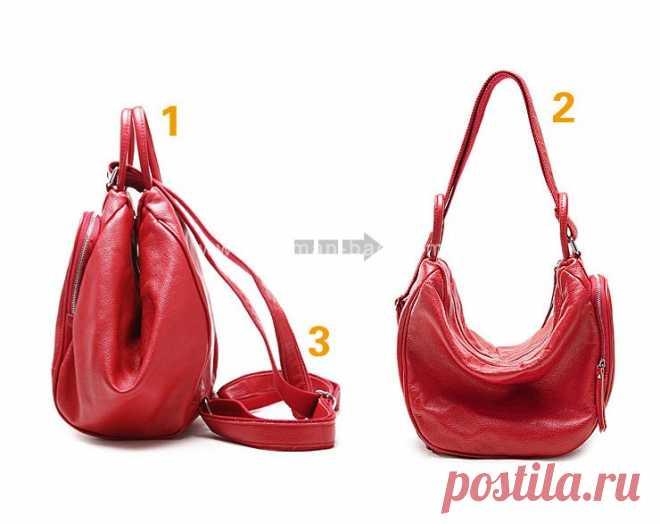 e410fdbf7b40 Женская сумка рюкзак трансформер своими руками | рукодельное ...