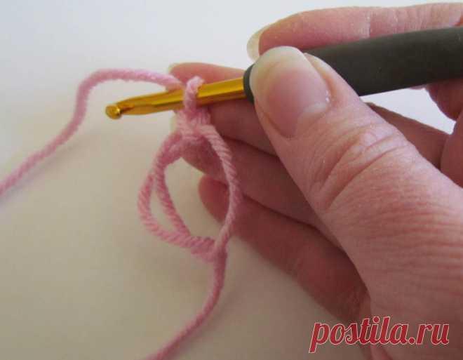 как сделать волшебную петлю схема вязания крючком вяжем техника