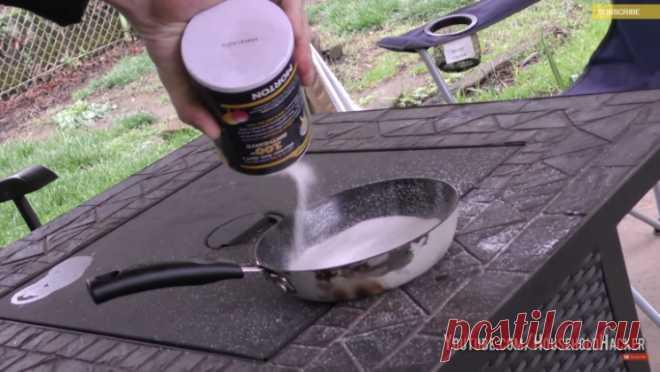Разгладьте соль с помощью утюга – и произойдет нечто невероятное! — БУДЬ В ТЕМІ