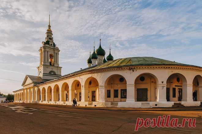 Едем в Кострому: город купеческого шика, вкусного сыра, | Perito
