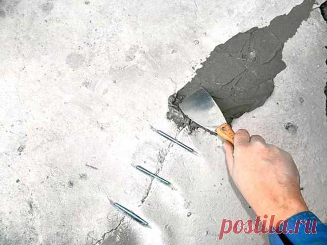 Как заделать трещину на потолке, чтобы она не разрасталась — Строительство и отделка — полезные советы от специалистов