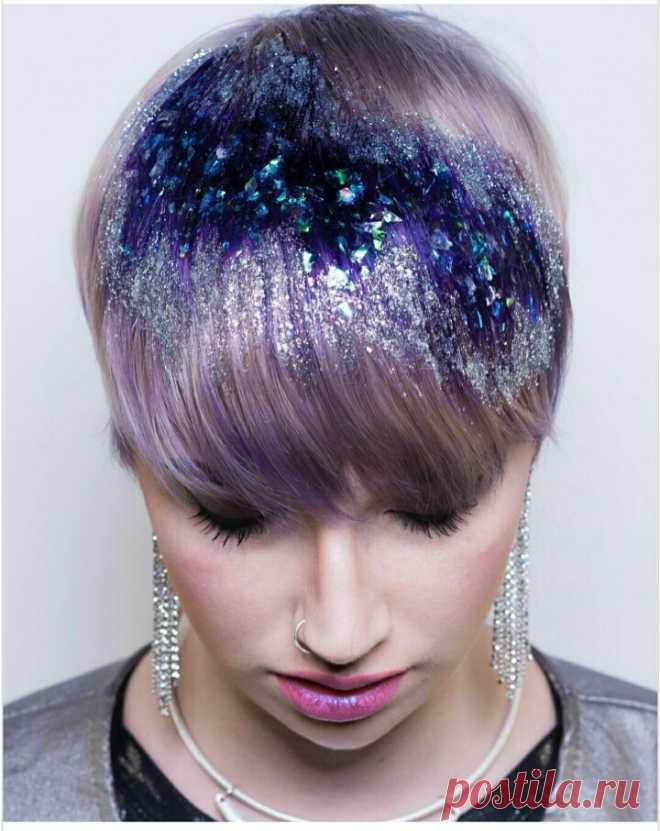 Жадоид на волосах