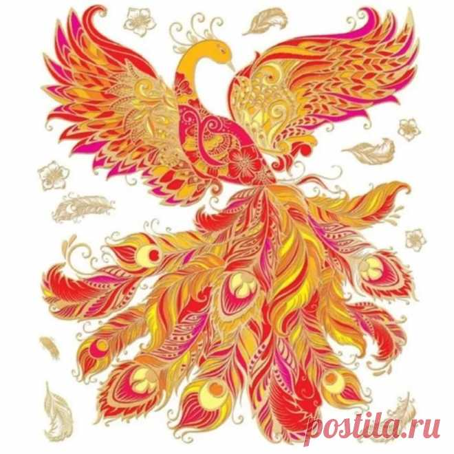 картинки рисунки жар птица