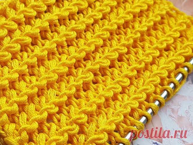 Узор в вашу копилку.   Asha. Вязание и дизайн.🌶   Яндекс Дзен