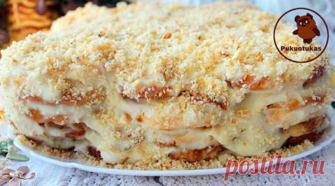 «Tingus Napoleonas»,daugelis šeimininkių dievina šį tortą- paruošiamas vos per 20 minučių! – Pukuotukas.com
