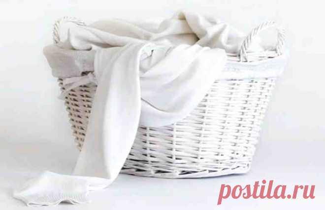 5 способов деликатно отбелить белые вещи. Подходит даже для тонких тканей и нижнего белья! - У нас так