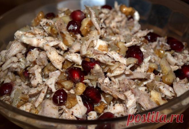 Сказочный салат «Шамаханская царица». Удивит вкусом и сочетанием!