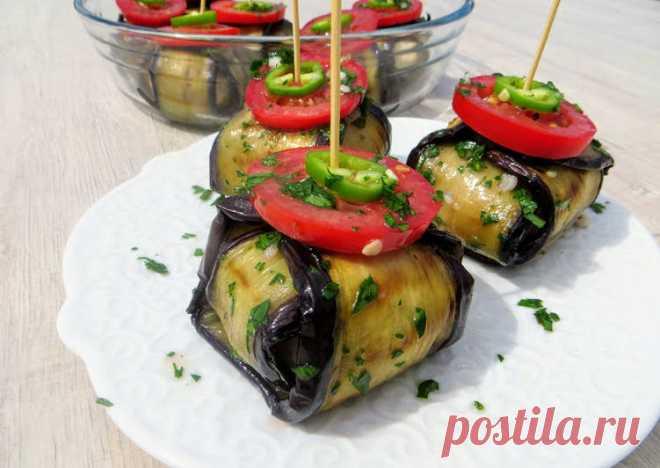 Сметут за минуту, закуска, которая всех удивит / Eggplant with meat balls - пошаговый рецепт с фото. Автор рецепта Другая Кухня-Валерия . - Cookpad
