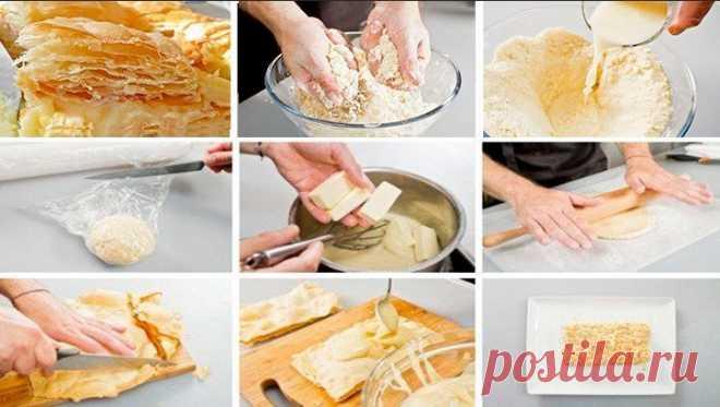 Торт наполеон простой рецепт с заварным кремом
