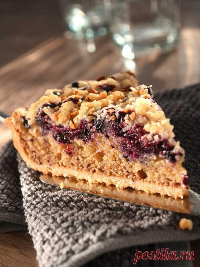 Тертый пирог с черной смородиной - Pan Fairy — LiveJournal