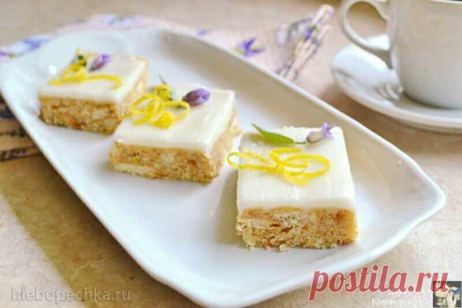 Лимонные пирожные без выпечки (+видео) - рецепт с фото на Хлебопечка.ру