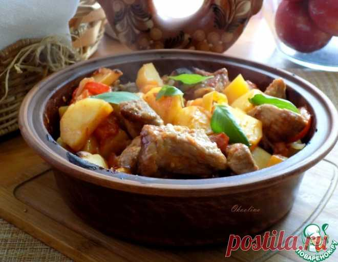 Оджахури на кеци – кулинарный рецепт