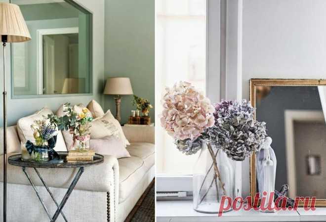 Декорирование интерьера: фото-советы, как использовать декор в стиле прованс | Lavanda-decor | Яндекс Дзен