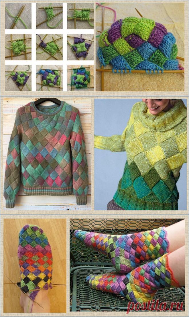 Энтрелак (энтерлак) популярный и очень эффектный стиль вязания - в моделях и схемах | МНЕ ИНТЕРЕСНО | Яндекс Дзен