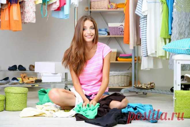 7 пунктов, которые помогут навести порядок и чистоту в шкафу с вещами