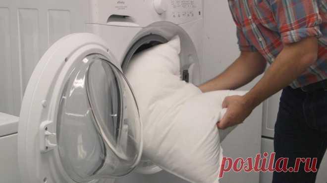 Как стирать подушки - Полезные советы - медиаплатформа МирТесен