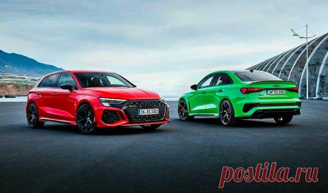 Новый Audi RS 3 Sportback 2022 в цвете Tango Red - Сумасшедшие светодиодные фары, ВНУТРЕННИЙ И ЭКСТЕРЬЕР, цена и характеристики